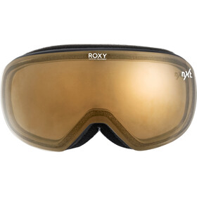 Roxy Popscreen Snowboard Goggles Women, nero/bianco